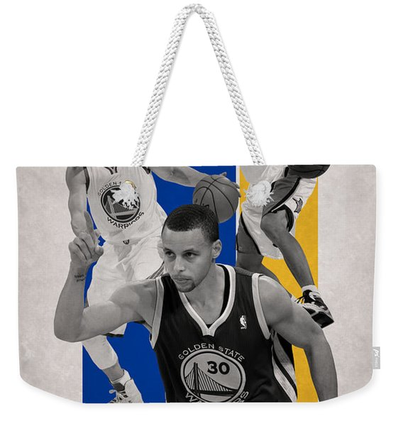 Stephen Curry Golden State Warriors Weekender Tote Bag