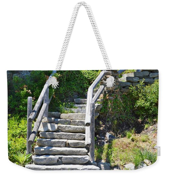 Stepping Up Weekender Tote Bag