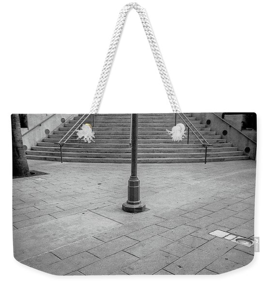 Steps And Light Pole Parking Structure Weekender Tote Bag