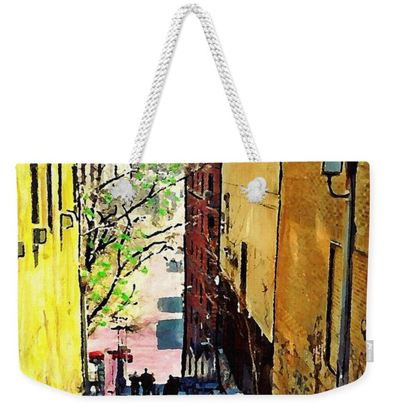 Steps At 187 Street Weekender Tote Bag