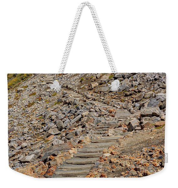 Steps Skyline Trail Weekender Tote Bag