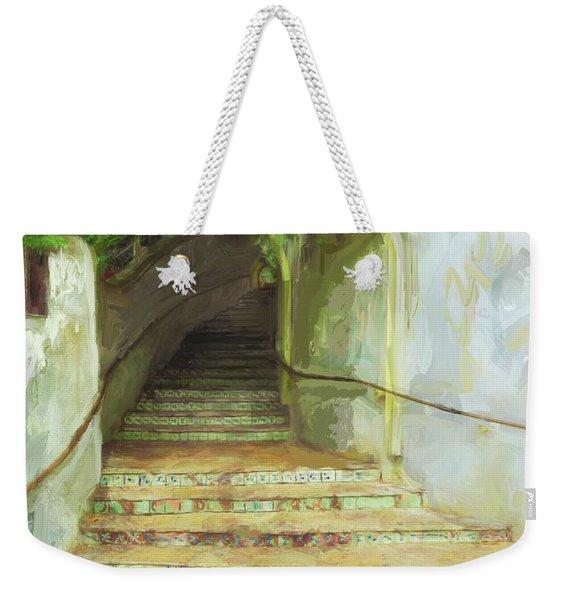 Steps To La Villita Weekender Tote Bag