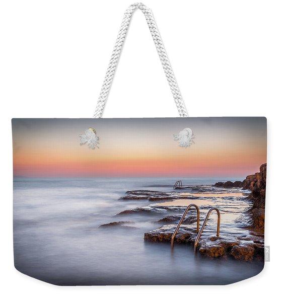 Steps To The Sea. Weekender Tote Bag