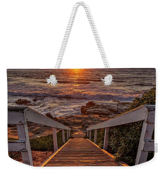 Steps To The Sun  Weekender Tote Bag