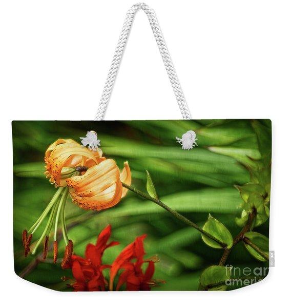 Steroid Stamens Weekender Tote Bag