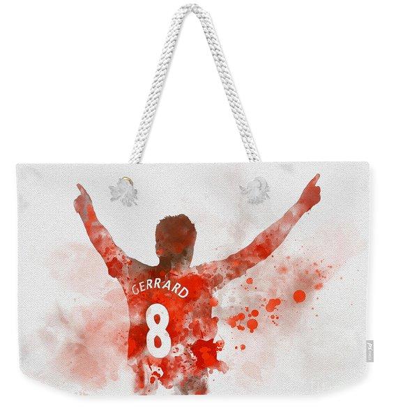 Steven Gerrard Weekender Tote Bag