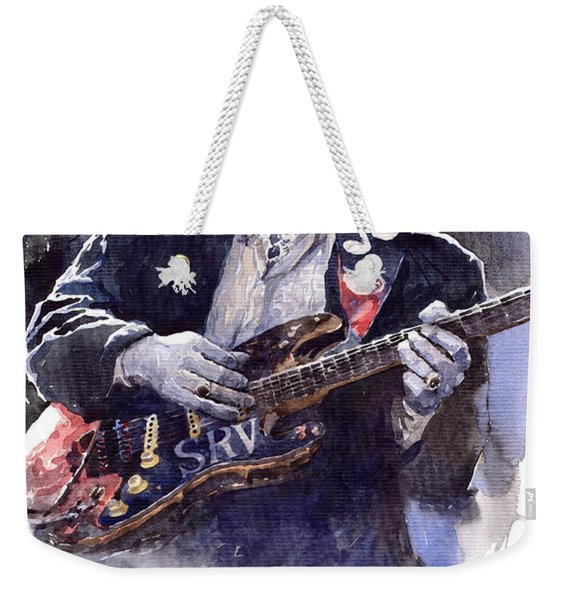 Stevie Ray Vaughan 1 Weekender Tote Bag