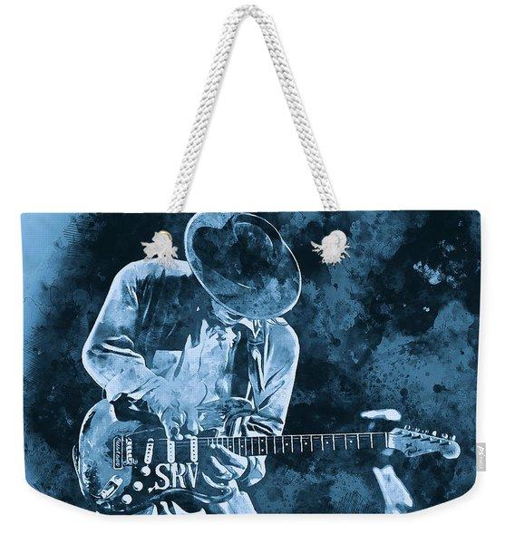 Stevie Ray Vaughan - 12 Weekender Tote Bag