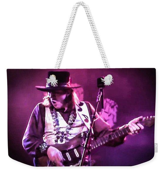 Stevie Ray Vaughan - Change It Weekender Tote Bag