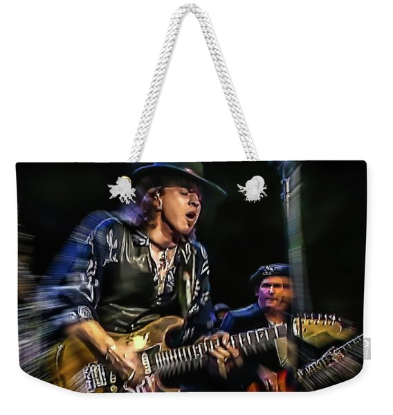 Stevie Ray Vaughan - Couldn't Stand The Weather Weekender Tote Bag