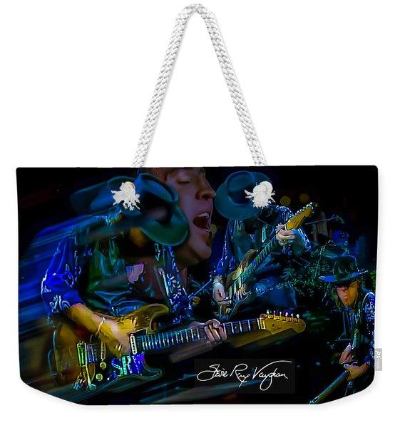 Stevie Ray Vaughan - Double Trouble Weekender Tote Bag