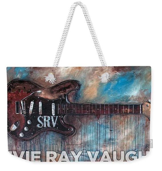 Stevie Ray Vaughan Double Trouble Weekender Tote Bag
