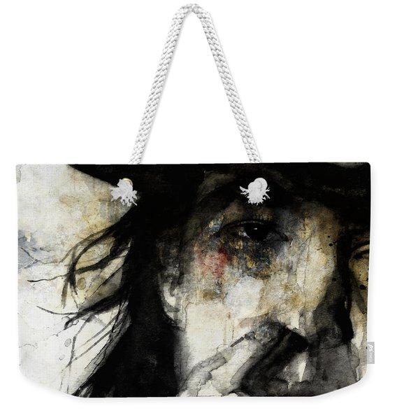 Stevie Ray Vaughan Retro Weekender Tote Bag