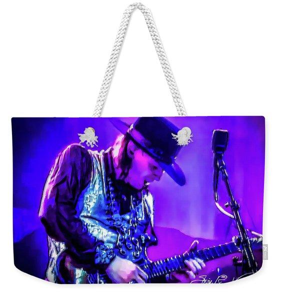 Stevie Ray Vaughan - Tightrope Weekender Tote Bag