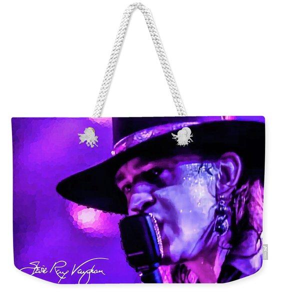 Stevie Ray Vaughan- Voodoo Chile Weekender Tote Bag