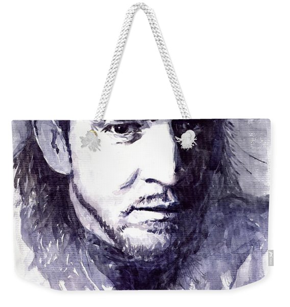 Stevie Ray Vaughan Weekender Tote Bag