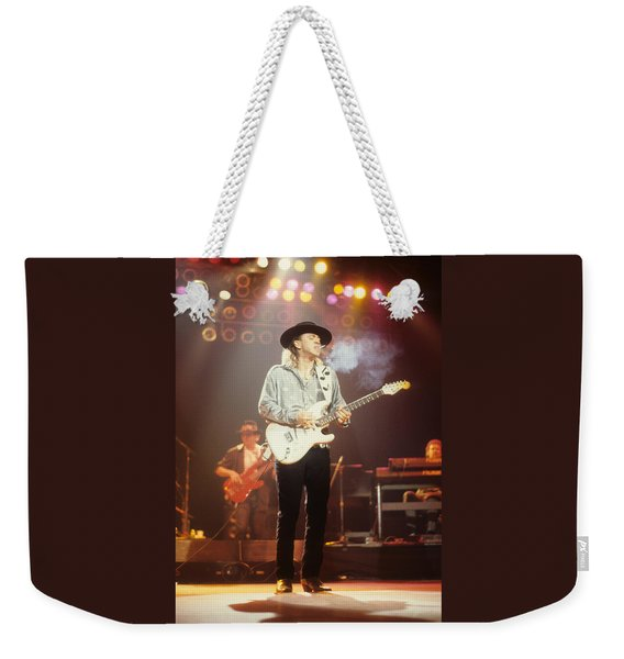 Stevie Ray Vaughn Weekender Tote Bag