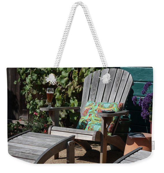 Stick Your Feet Up And Rest A While Weekender Tote Bag
