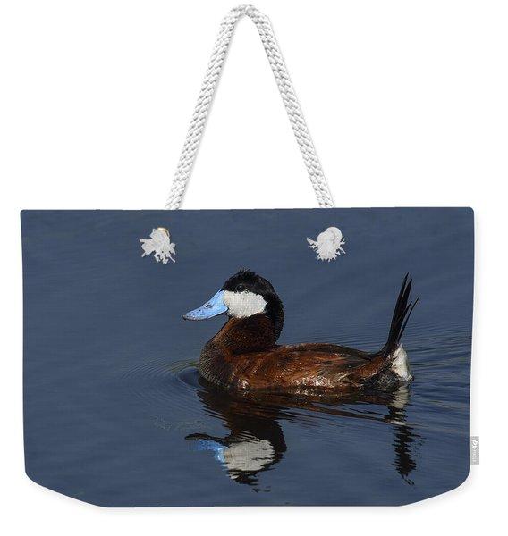 Stiff Tail Weekender Tote Bag