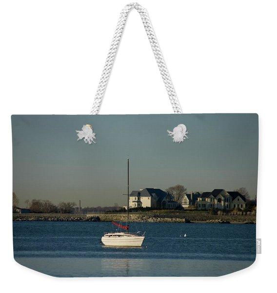Still Boat Weekender Tote Bag