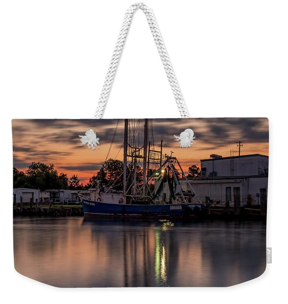 Still In Motion Weekender Tote Bag