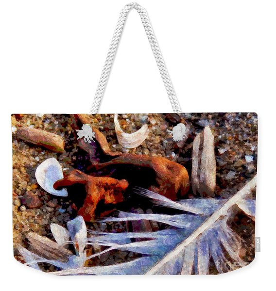 Still Life At Beach 2015 Weekender Tote Bag
