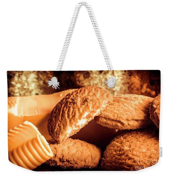 Still Life Bakery Art. Shortbread Cookies Weekender Tote Bag