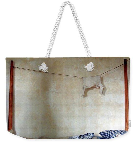 Still Life In A Colonial Bedroom Weekender Tote Bag