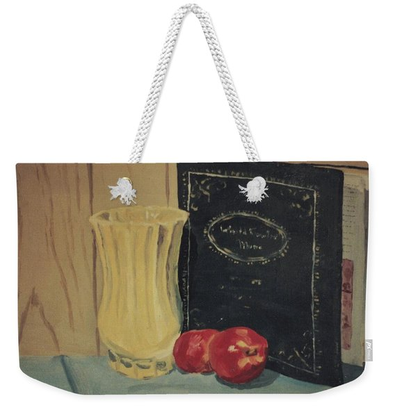 Still Life In College Weekender Tote Bag