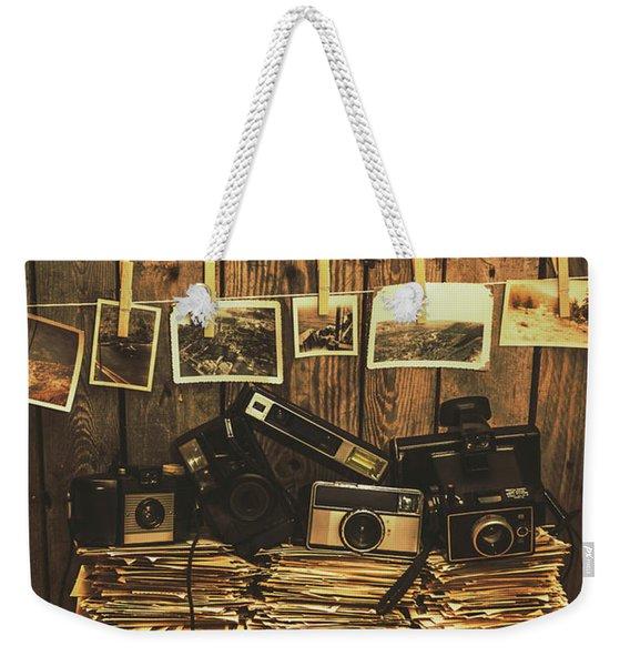 Still Life Nostalgia Weekender Tote Bag