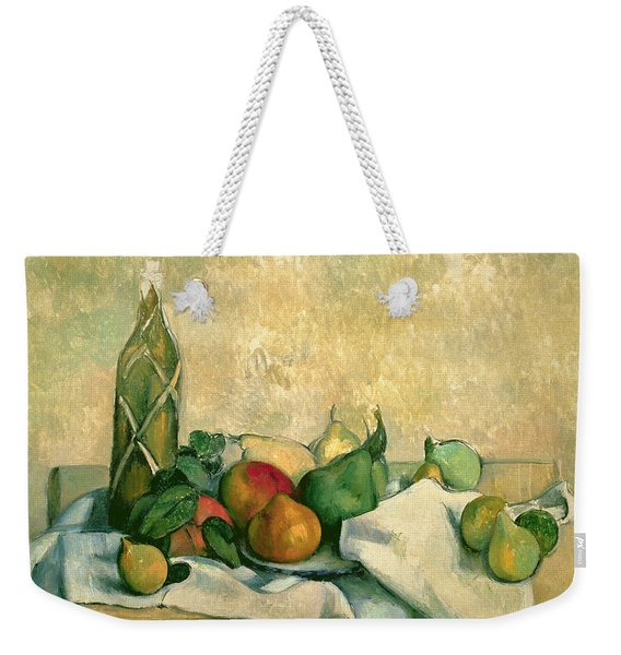Still Life With Bottle Of Liqueur Weekender Tote Bag