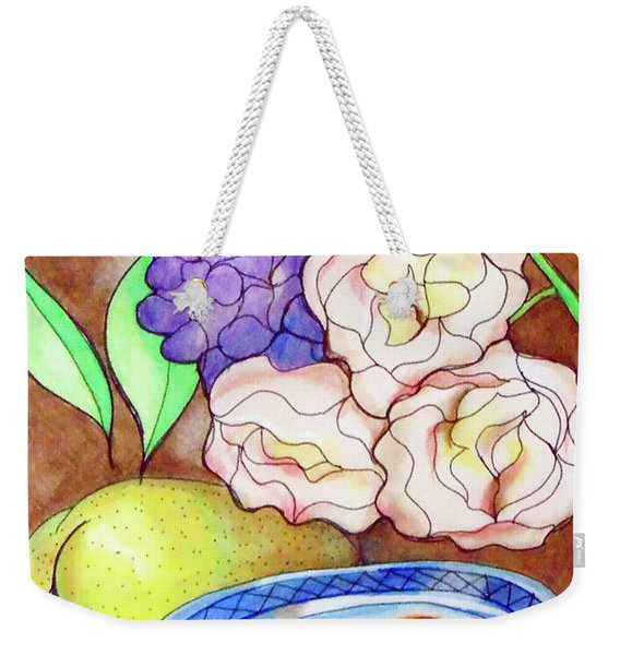 Still Life With Fish Weekender Tote Bag
