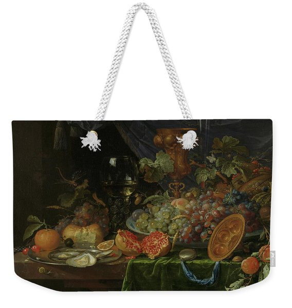 Still Life With Fruit And Oysters   Weekender Tote Bag