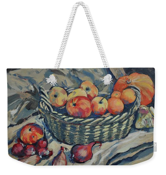 Still Life With Fruit And Vegetables Weekender Tote Bag
