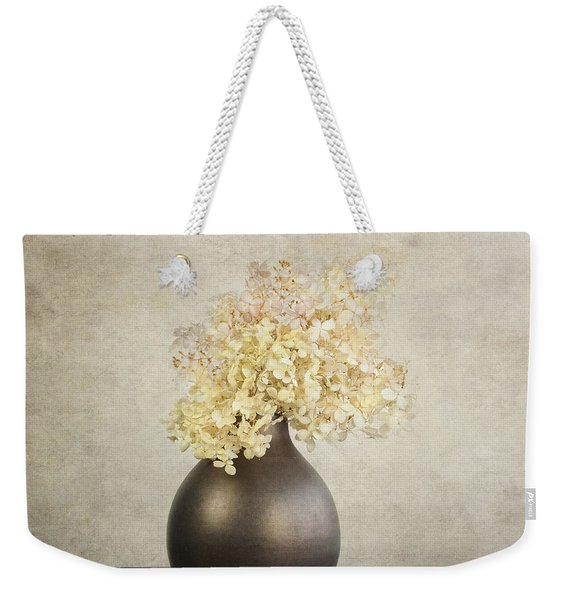 Still Life With Hydrangea Weekender Tote Bag