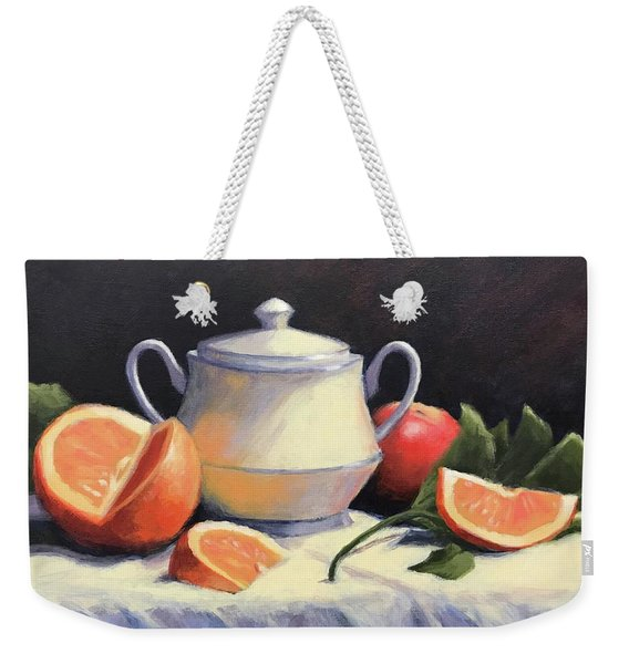 Still Life With Oranges Weekender Tote Bag