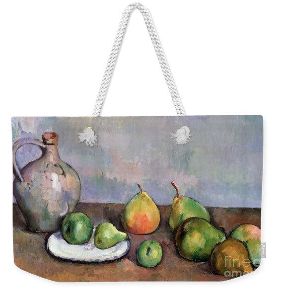 Still Life With Pitcher And Fruit Weekender Tote Bag