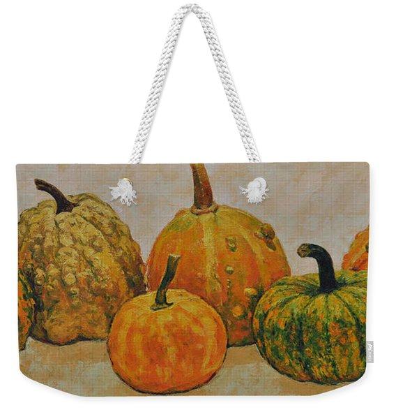 Still Life With Pumpkins Weekender Tote Bag