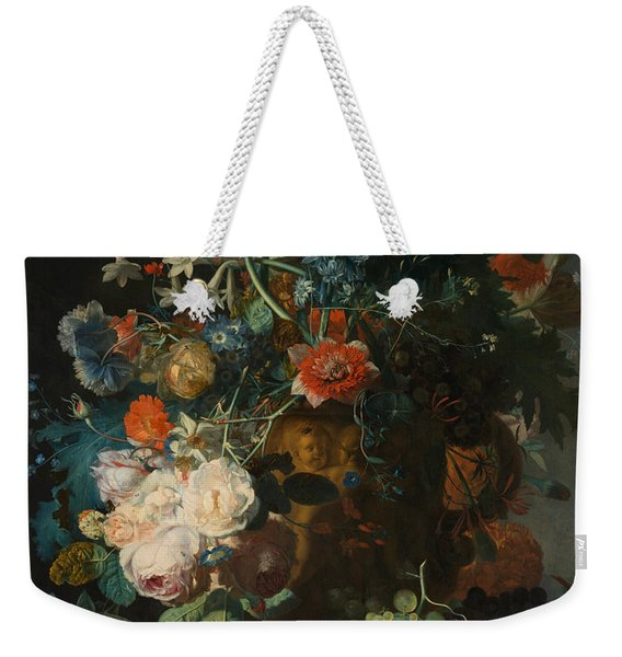 Still Life, Flowers Weekender Tote Bag