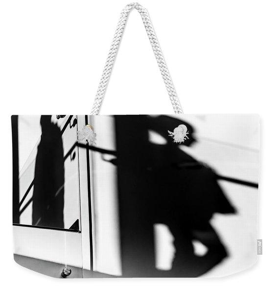 Still Shadows Weekender Tote Bag
