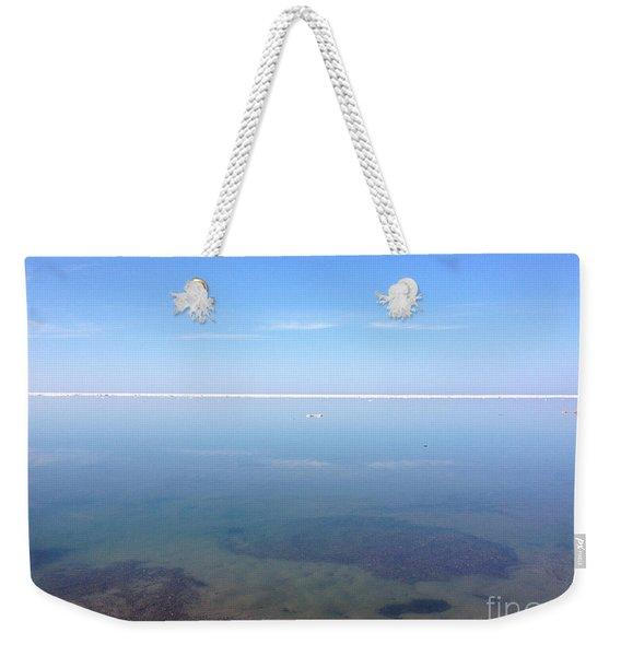Still Tranquil Waters Weekender Tote Bag