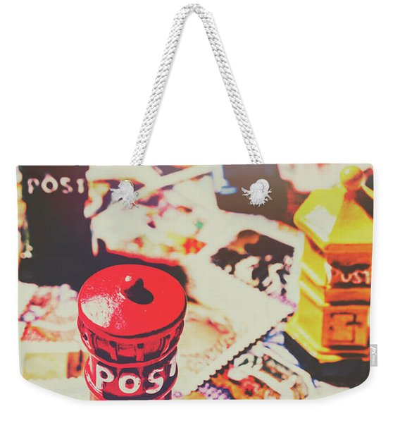 Stilling The Mail Room Weekender Tote Bag