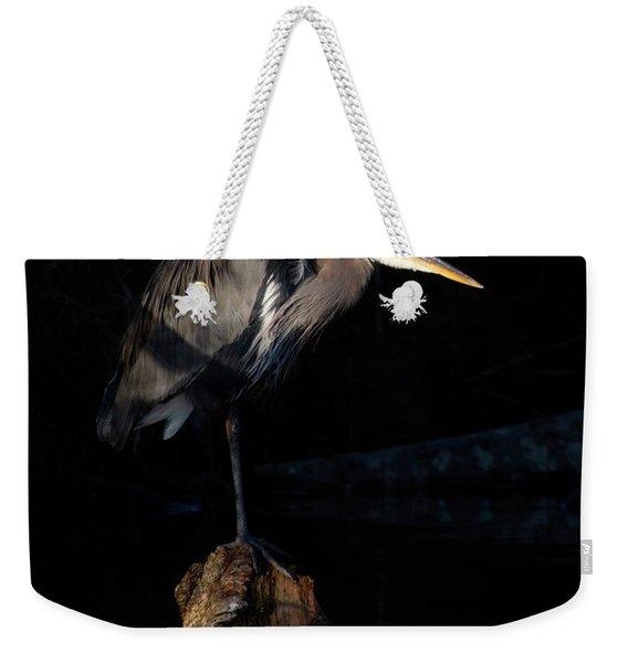 Stillness On The Hunt Weekender Tote Bag