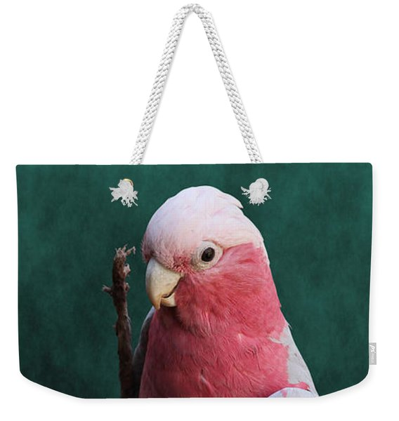 Stiltwalker - Roseate Cockatoo Weekender Tote Bag