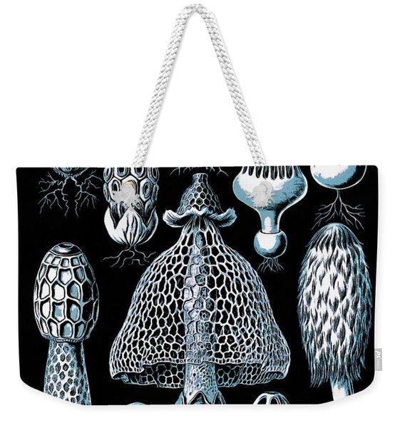 Stinkhorn Mushrooms Vintage Illustration Weekender Tote Bag