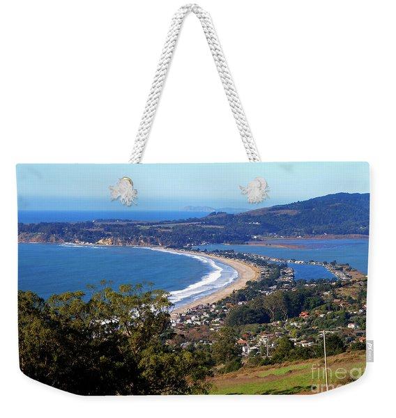 Stinson Beach  Weekender Tote Bag