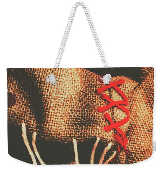 Stitched Up Madness Weekender Tote Bag