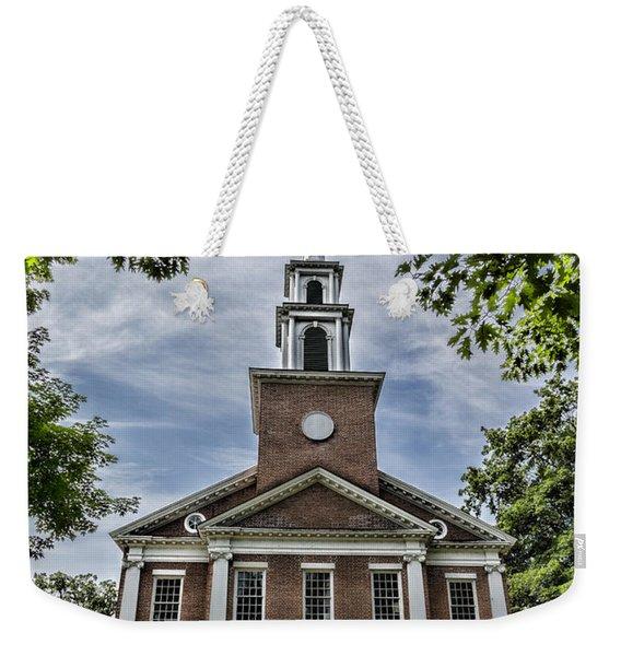 Stockbridge Congregational Church Weekender Tote Bag
