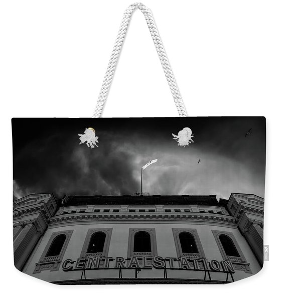 Stockholm Central Weekender Tote Bag