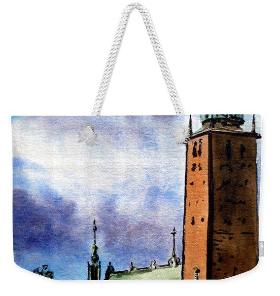 Stockholm Sweden Weekender Tote Bag